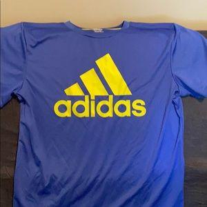 Moisture wicking Adidas tee